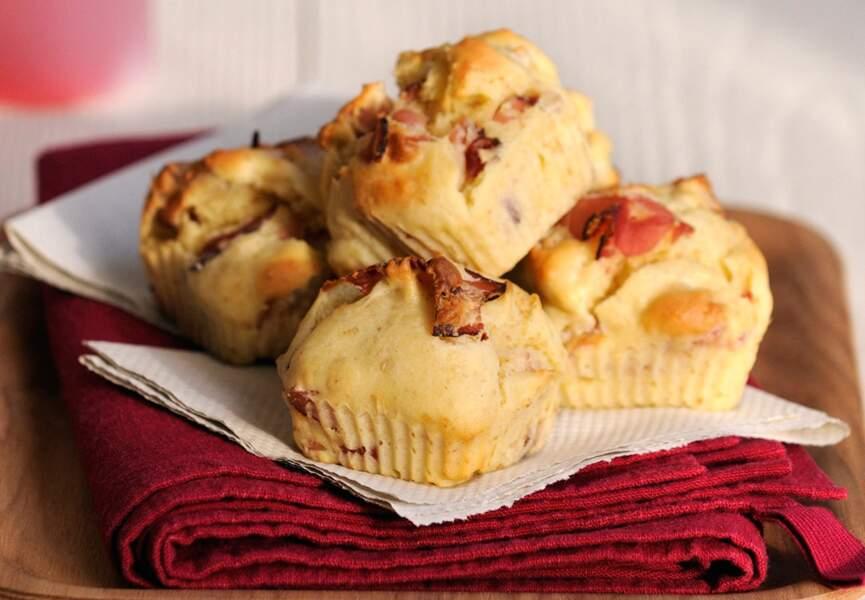 Muffin jambon et ricotta