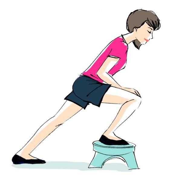 Le genou, exercice 1