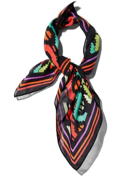 Le foulard hippie