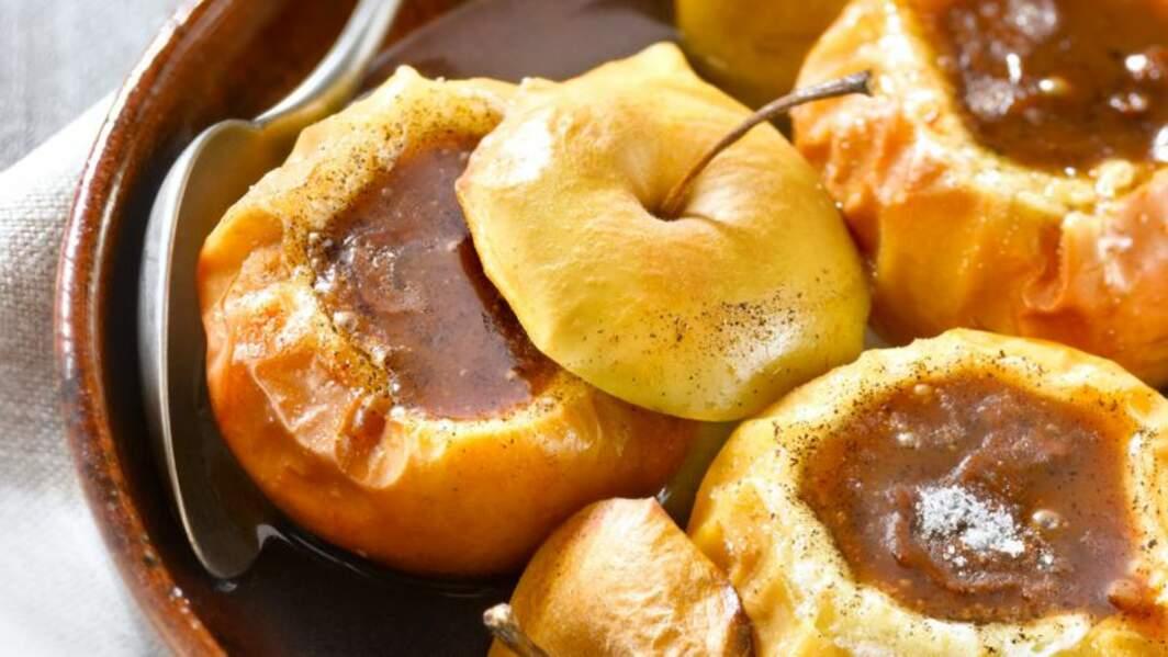 Pommes au four et carambar
