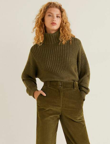 Gros pull : militaire