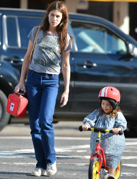 Charlotte Gainsbourg : le look relax