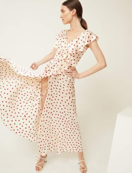 Robe d'été: soie