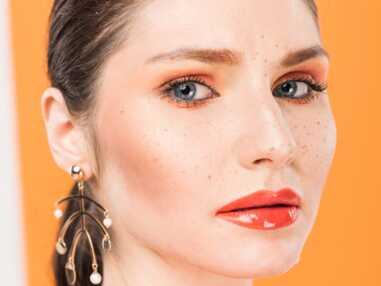 Tendance makeup : on craque pour l'orange