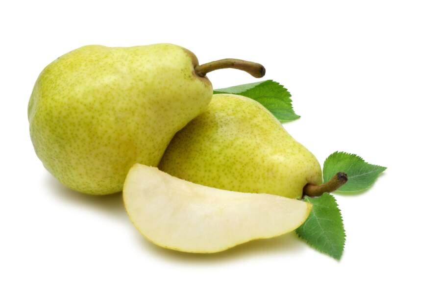 Fruit minceur : la poire 46 kcal pour 100g