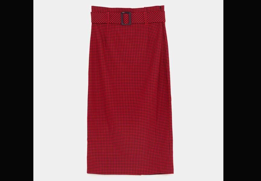 Nouveautés Zara: la jupe droite