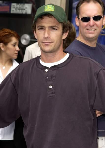 """Luke Perry à la première du film """"Sinbad : la légende des sept mers"""" en 2003."""