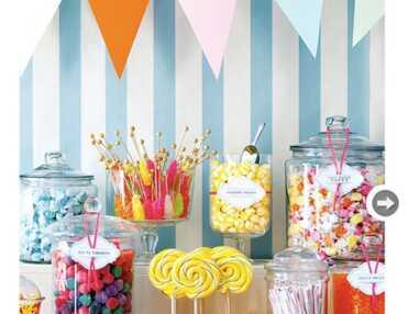 Les plus beaux candy bars de mariage