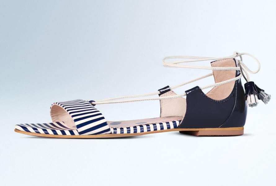 Sandales esprit marin