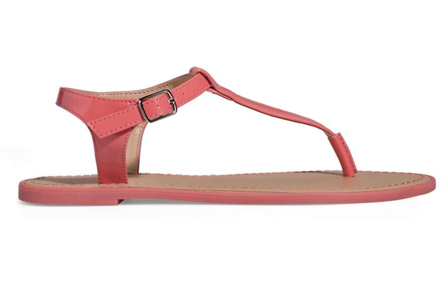 Sandales corail