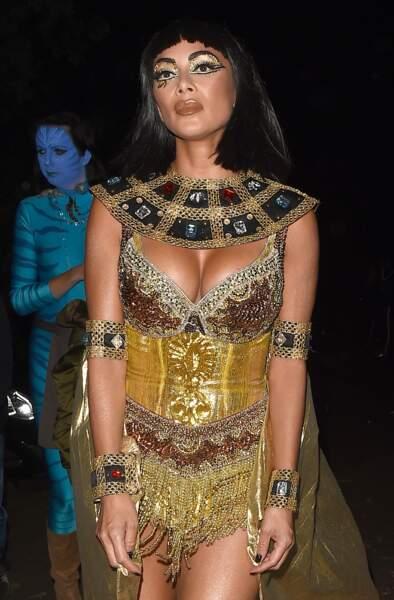Le déguisement de Nicole Scherzinger pour Halloween