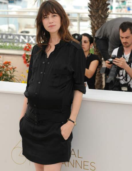 Charlotte Gainsbourg : le look cool