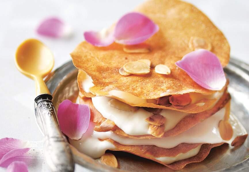 Pastillas à la crème de rose