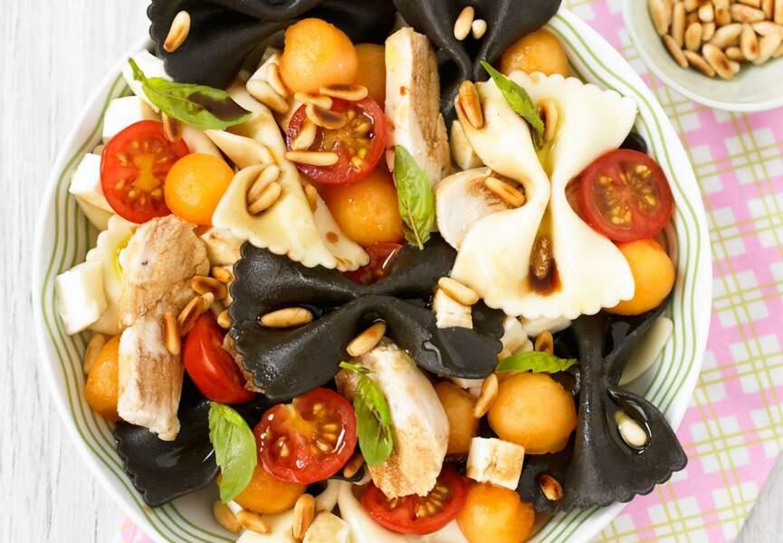 Salade de pâtes au blanc de poulet
