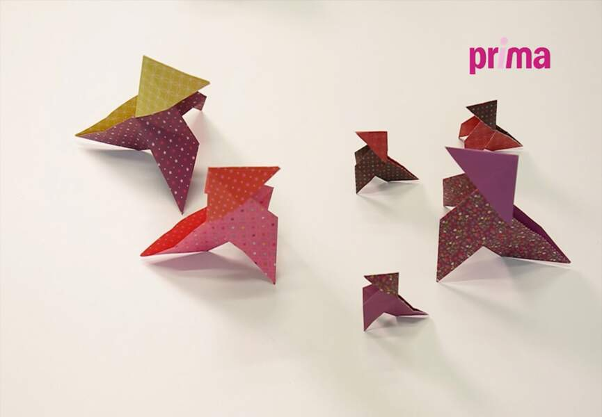 On opte pour l'origami