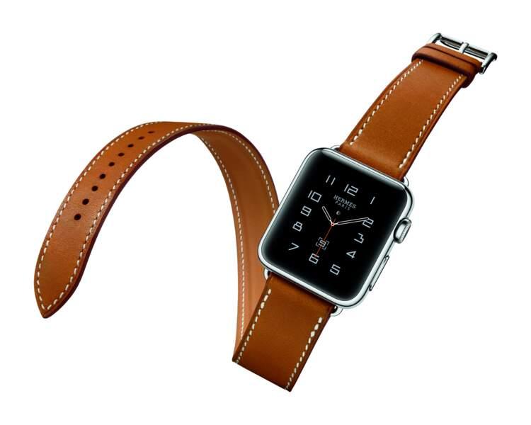 Signée Apple, une montre connectée so chic