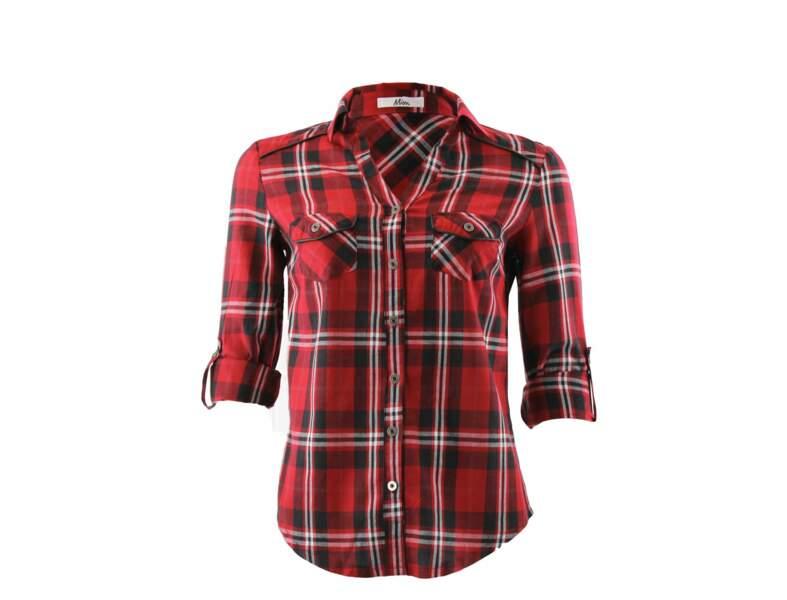 La chemise tartan par Mim