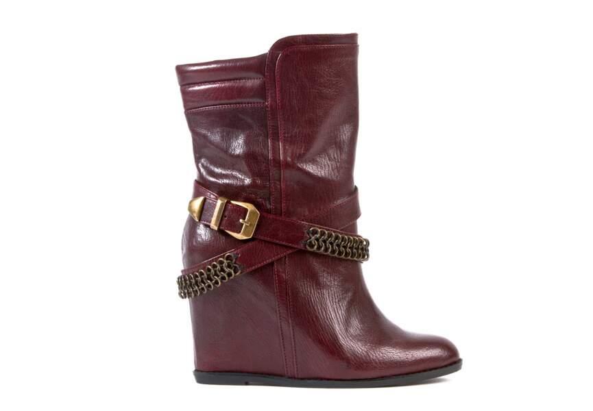 Boots sanglées