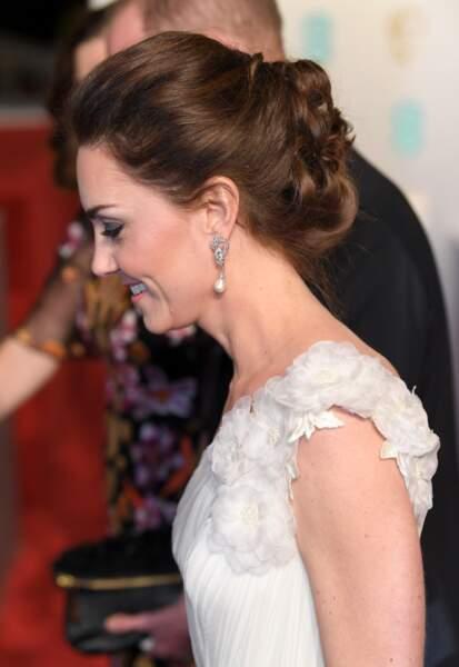 Kate Middleton porte les boucles d'oreilles de Lady Diana