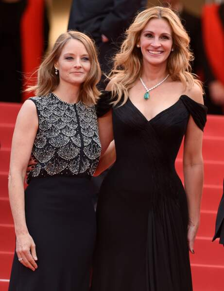 Jodie Foster avec Julia Roberts