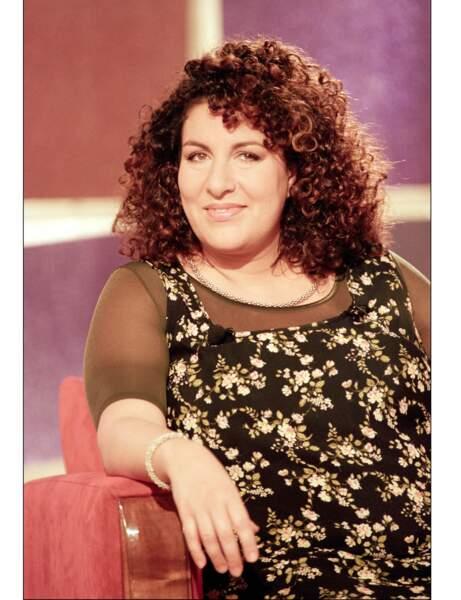"""Marianne James sur le plateau de """"Vivement Dimanche"""" en 1999"""