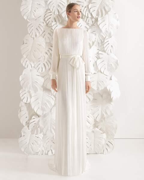 Mariage en hiver : Robe de mariée Necora par Rosa Clara