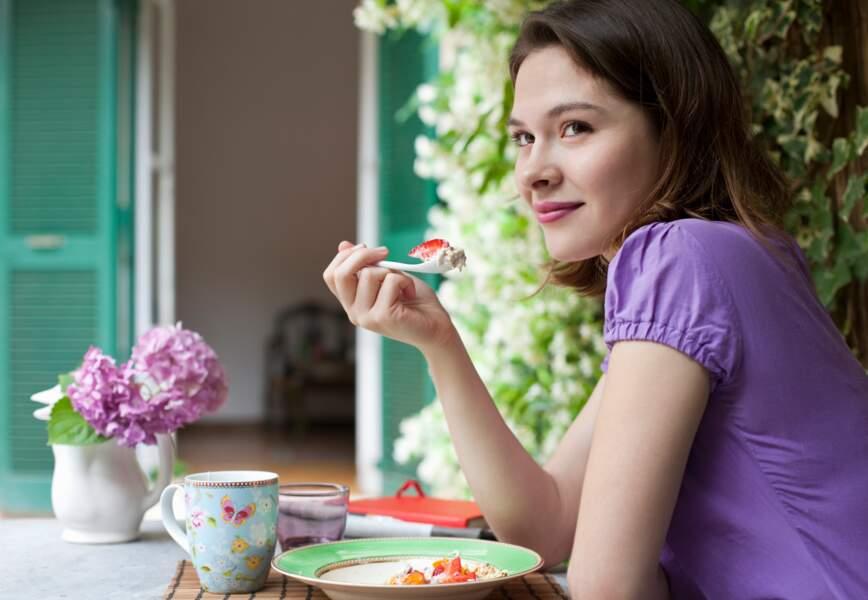 Manger au calme aide à mincir