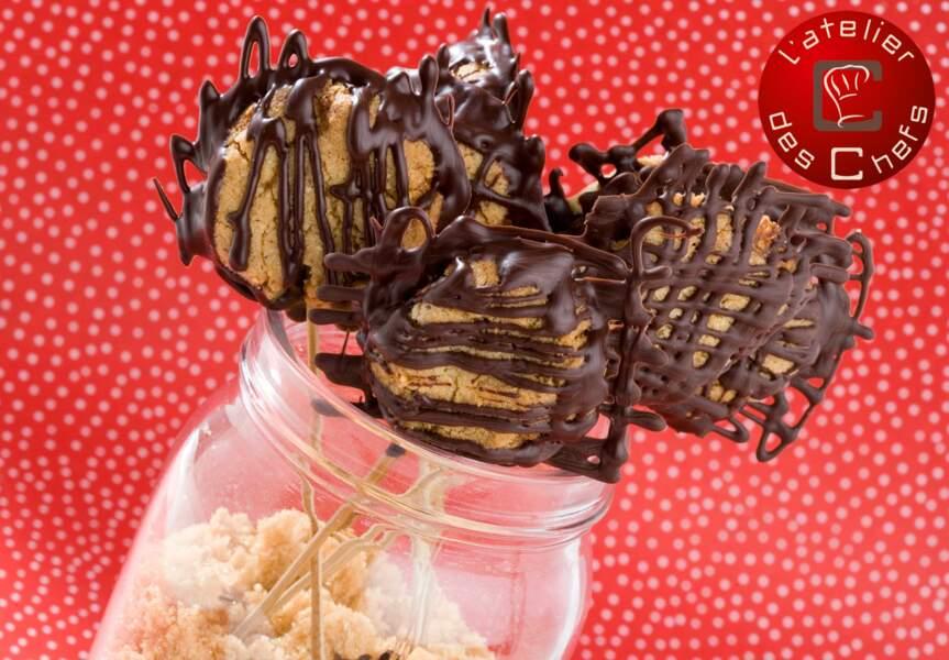 Les sucettes régressives au chocolat