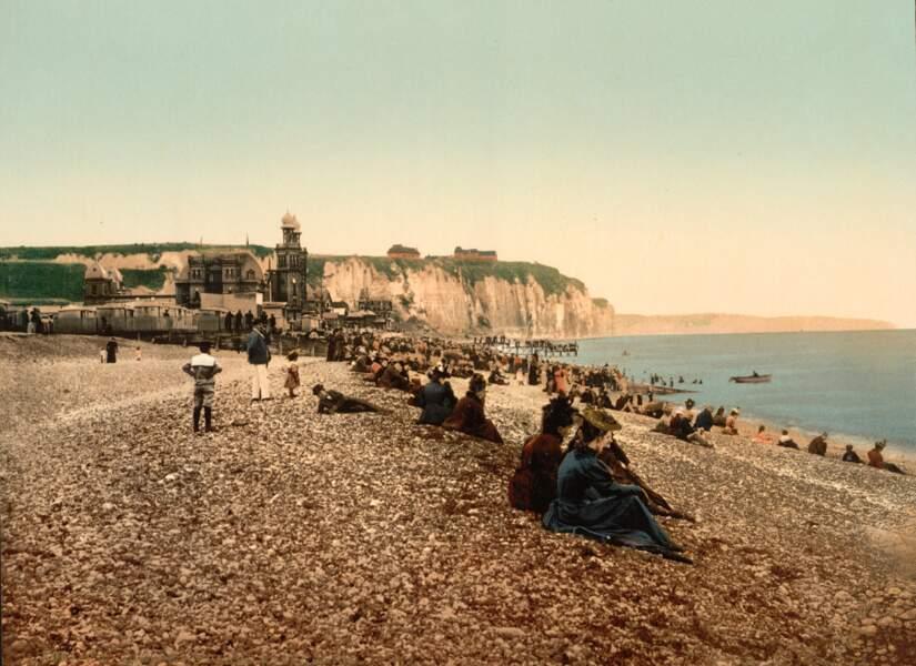 La plage et le casino de Dieppe, déjà des hauts lieux de loisir...