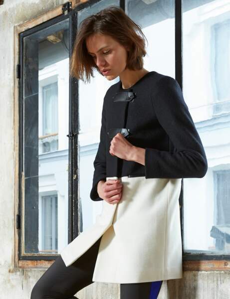 Le manteau black & white