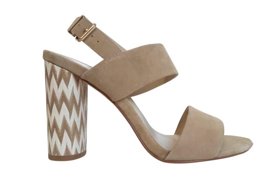 Sandales nudes