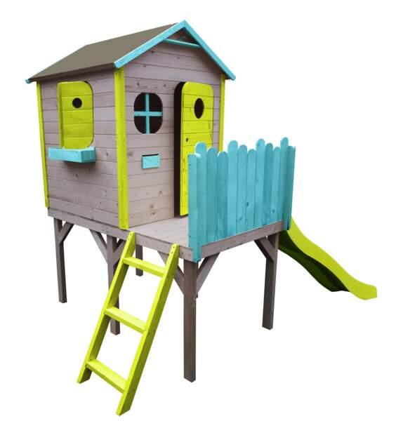 Maisonnette colorée