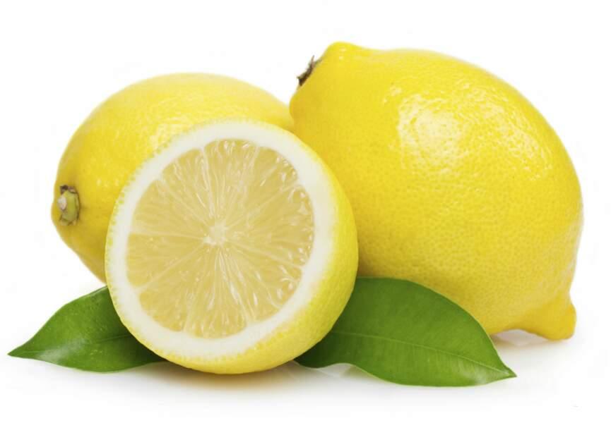 Le citron, idéal pour éliminer