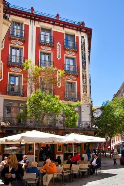 Café au Centre de Madrid