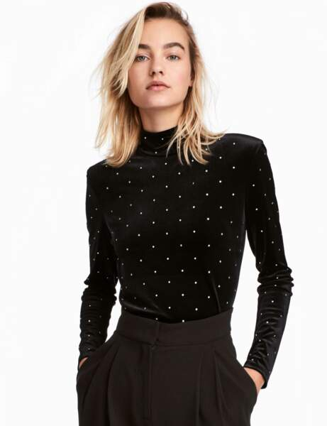 Col montant : le top glam'