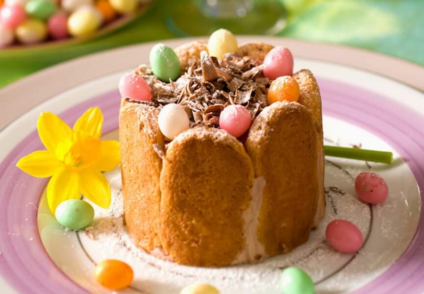 Charlottes au chocolat praliné