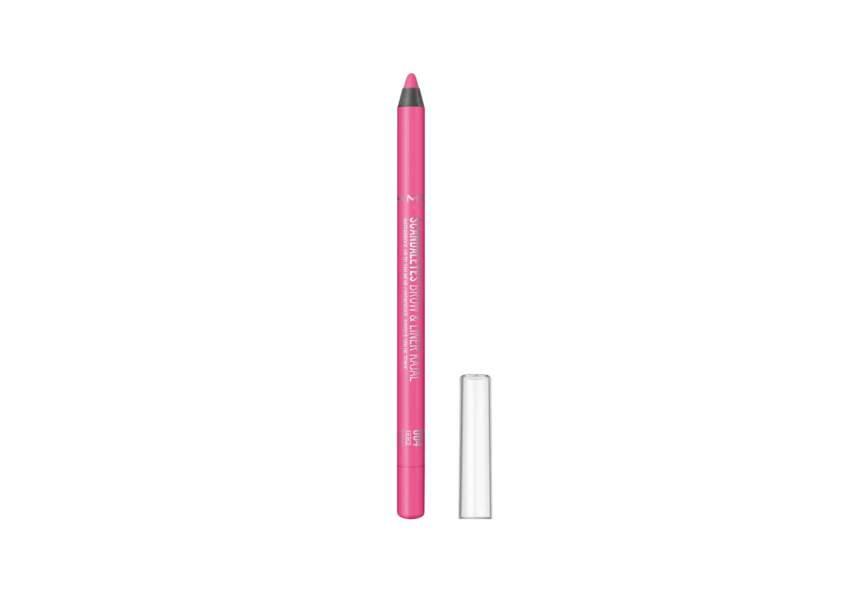 Le Crayon Scandal'eyes brow & liner kajal 004 Fierce Fuchsia Rimmel