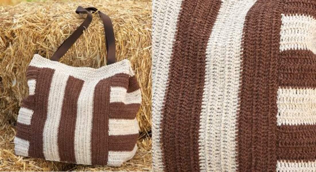 Le sac ethnique au crochet