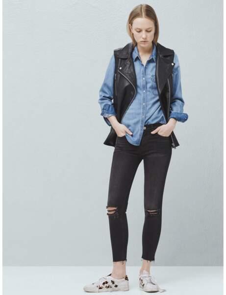 Le jean grunge