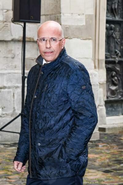 Eric Ciotti aux obsèques de Dick Rivers en l'église Saint-Pierre de Montmartre, à Paris, le 2 mai 2019.