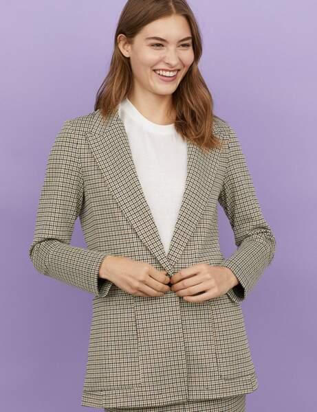 Nouveautés H&M : la veste à carreaux