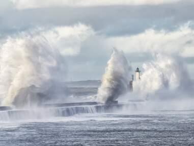 Les plus belles images de la tempête de ce week-end