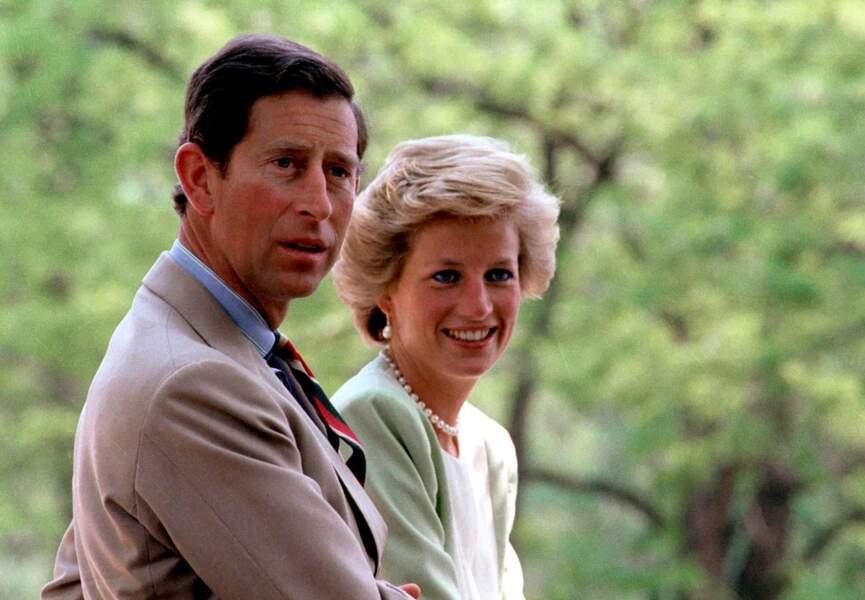 Lady Di et Charles, en Hongrie, font encore semblant d'être heureux ensemble (mai 1991).
