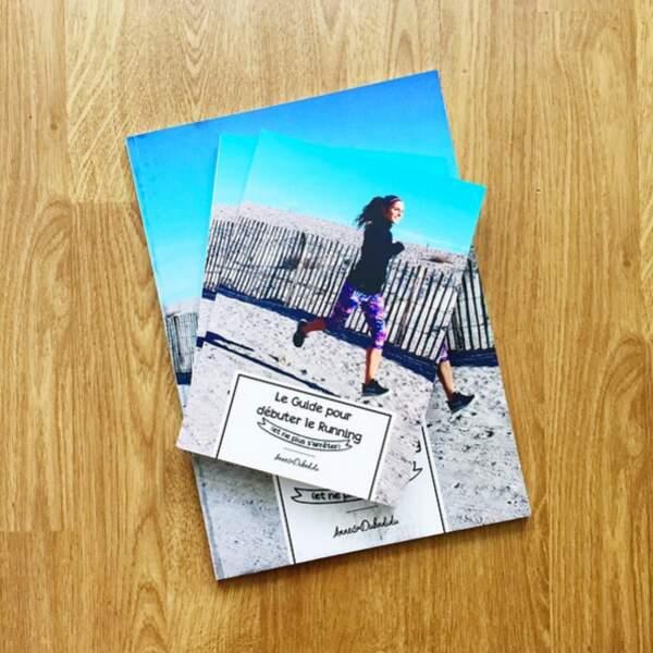 """Mon livre """"Le guide pour débuter le running (et ne plus s'arrêter)"""" est vraiment mon petit bébé"""