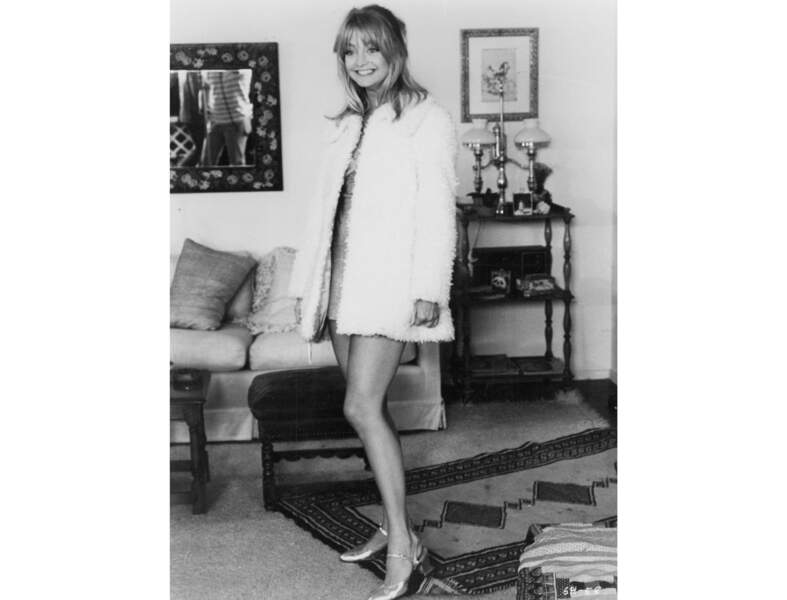 Goldie Hawn en 1975, la mère de Kate Hudson