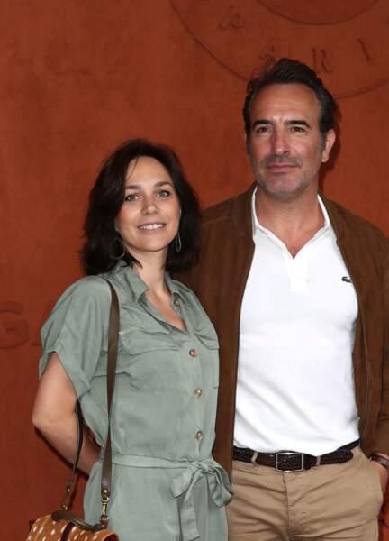 Jean Dujardin et sa femme Nathalie Péchalat le 9 juin 2019