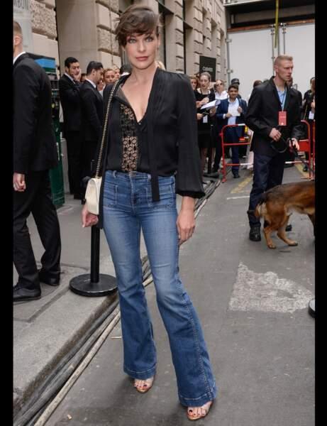 Milla Jovovich et son flare