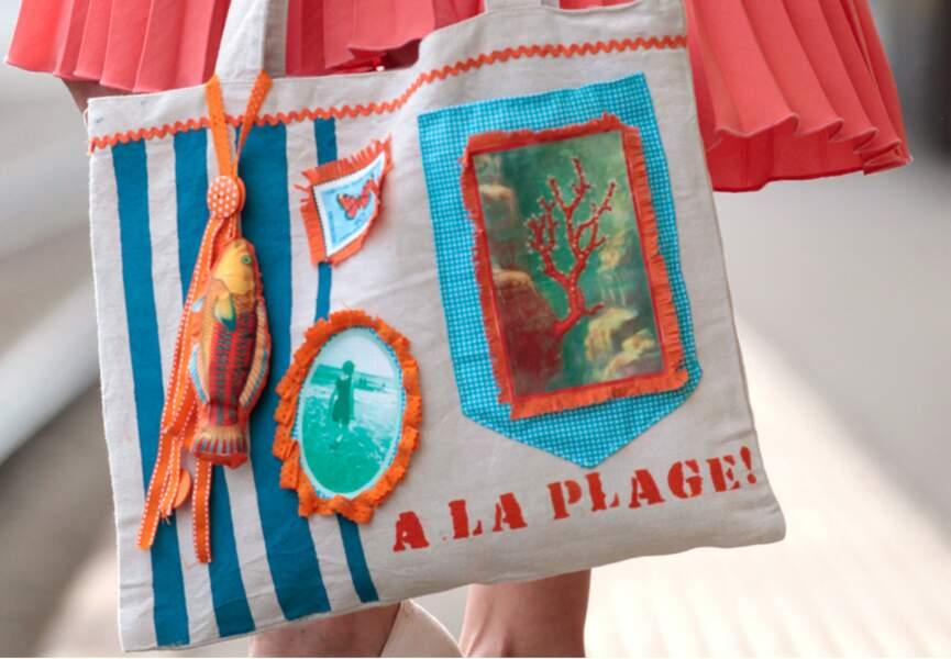 Un sac de plage
