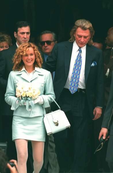 Laeticia Hallyday en 1996