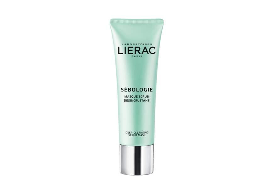 Le Masque scrub désincrustant Sebologie Lierac